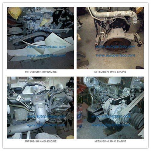 4m50 Mitsubishi Used Parts , Engine and Spare Parts With High Performance Reasonable price 0