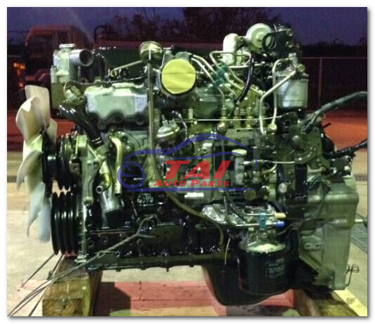 Reliable Japanese Low Mileage Engines 4hg1 Engine For Isuzu With High Performance