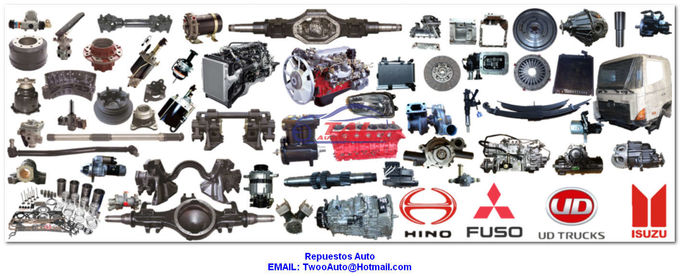 Japanese engine spare parts for isuzu mitsubishi hino nissan toyota