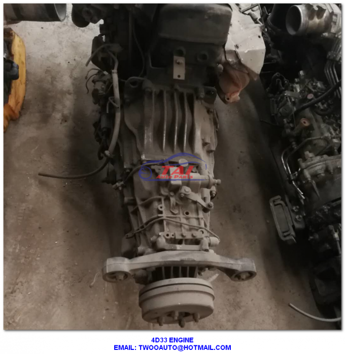 Diesel Mitsubishi Canter Engine , Japan Original Complete Car Engine Spare Parts 4D33 4D34 4D35