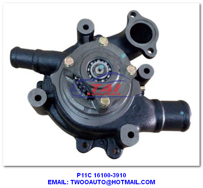 16100-3302 Car Power Steering Pump ,  F20C Water Pump For Hino Truck With High Performance