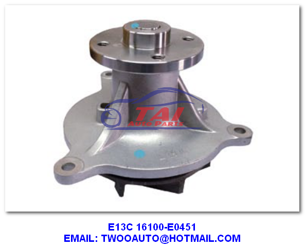 K13cts Car Power Steering Pump 16100-3820 , Truck / Trailer / Car Cooling Water Pump Type 16100-3820 For Hino K13cts