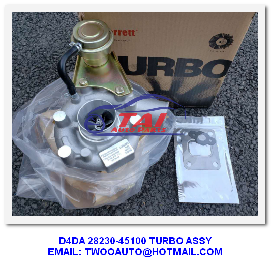 Diesel Japanese Engine Parts , 4D34TI Engine Mitsubishi TD05H Turbo For Hyundai Truck Mighty II