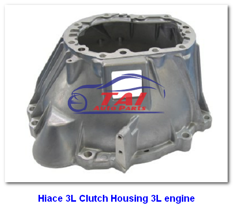 Hiace 3L Car Gearbox Parts Clutch Housing For 3L Engine For Hiace 3L