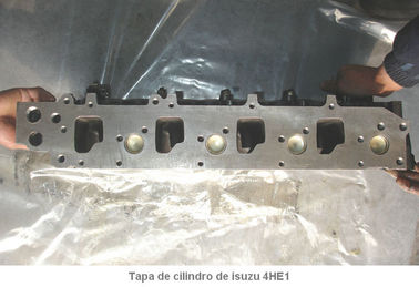 China Tapa De Cilindro Remanufactured Cylinder Heads De Isuzu 4he1 Motor Culata 4he1 Cylinder Block supplier