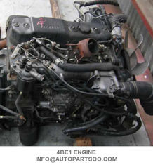 ISUZU 4BE1 Used Japanese Engines Assy , Isuzu Engine Spare Parts With High Performance supplier