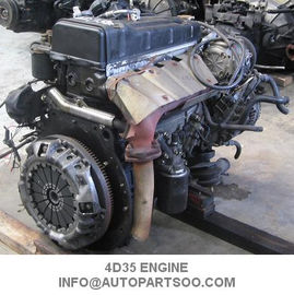 China 2nd Hand Fuso Mitsubishi 4D35 Engine Assy , Mitsubishi Diesel Engine Parts supplier