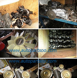 2nd Hand Fuso Mitsubishi 4D35 Engine Assy , Mitsubishi Diesel Engine Parts
