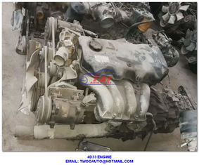 China Complete Mitsubishi Used Japanese Engines 4D33 4D34 4D35 Canter Diesel Used Engine For Sale supplier