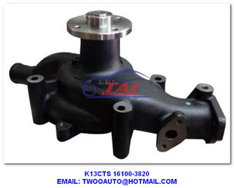 China K13cts Car Power Steering Pump 16100-3820 , Truck / Trailer / Car Cooling Water Pump Type 16100-3820 For Hino K13cts supplier