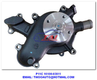 China P11c 1610003811 Aftermarket Power Steering Pum , Truck Cooling Water Pump Type 16100-03811 For Hino supplier