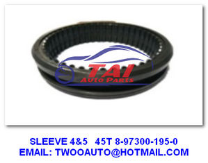 Gear Sleeve Japanese Truck Parts 4 / 5 45T 8-97300-195-0 4JH1-TC 4HF1-2005 NKR-71MYY5T supplier