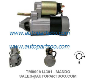 China 12V 1.2KW Auto Parts Starter Motor , 8T Anlasser Electric Car Starter supplier