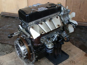 China Diesel Mitsubishi Canter Engine , Japan Original Complete Car Engine Spare Parts 4D33 4D34 4D35 supplier