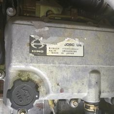 High Performance Hino Diesel Engine Parts , Used Hino Truck Wreckers J08C J08E J05C J05E