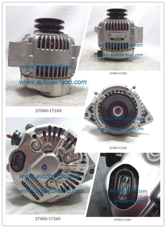 27060-17240 Toyota coaster for 60A alternator