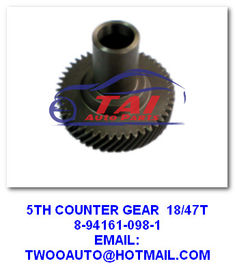 China Transmission Gear Auto Transmission Parts 5th Counter Gear 8-94161-098-1 / 8-94161-920-1 For 4ja1 factory