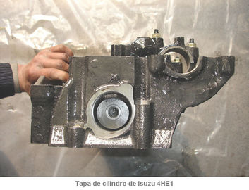 Isuzu 4he1 Automotive Cylinder Heads Cylinder Block Tapa De Cilindro De Isuzu 4he1 High Quality