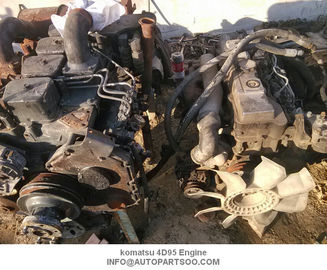 Used Komatsu 4D95 Used Japanese Import Engines , Komatsu Motor Engine And Spare Parts