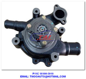 Truck Cooling Parts Car Power Steering Pump , P11C Water Pump For HINO Bus OEM 16100-3910