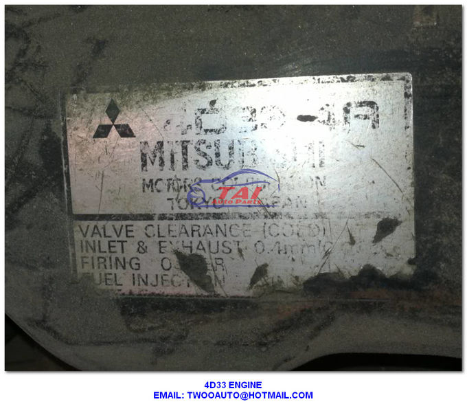 Complete Mitsubishi Used Japanese Engines 4D33 4D34 4D35 Canter Diesel Used Engine For Sale